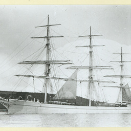 The 'Sierra Cadena' at anchor
