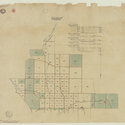 [Map of sections purchased in the Hundred of Gilbert] [cartographic material]