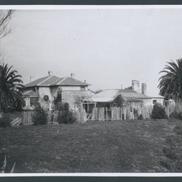 'The Grange' looking north