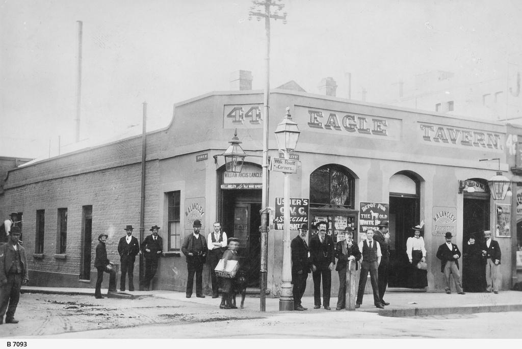 Eagle Tavern, Hindley Street, Adelaide