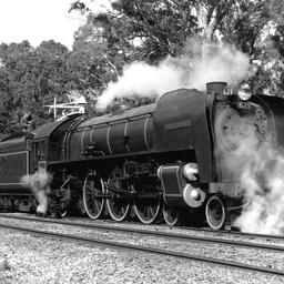 Steam Ranger 621, 'Duke of Edinburgh' at Blackwood