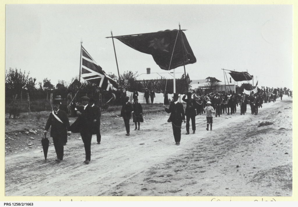 Eight Hours Day procession at Murray Bridge