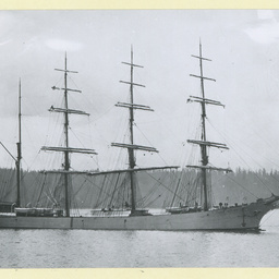 The 'Lord Ripen' anchored in an unidentified harbour