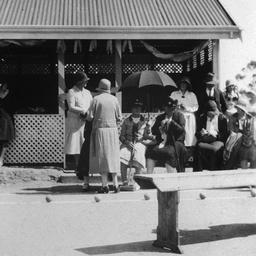 Opening of Willunga Croquet Club