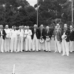 Opening of the Parkside Bowling Club