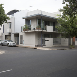 Residence on corner of Gilles Street and Ely Place, Adelaide