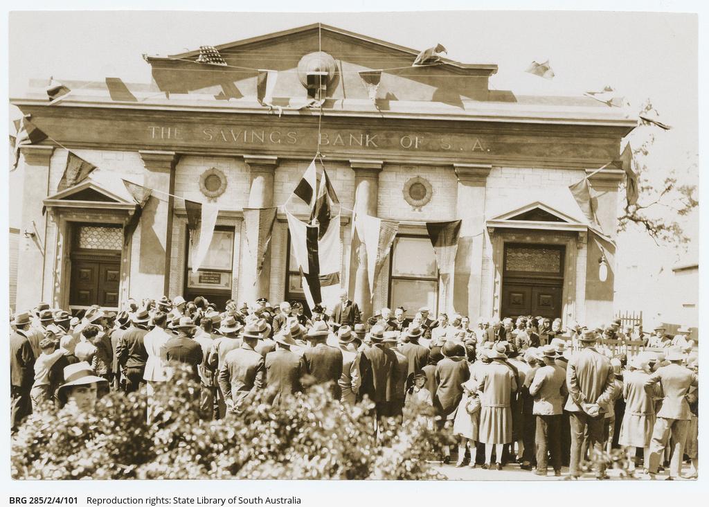 Savings Bank of S.A., Renmark