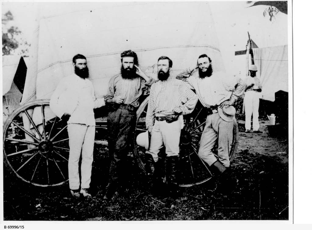 Charles Todd and the Overland Telegraph team