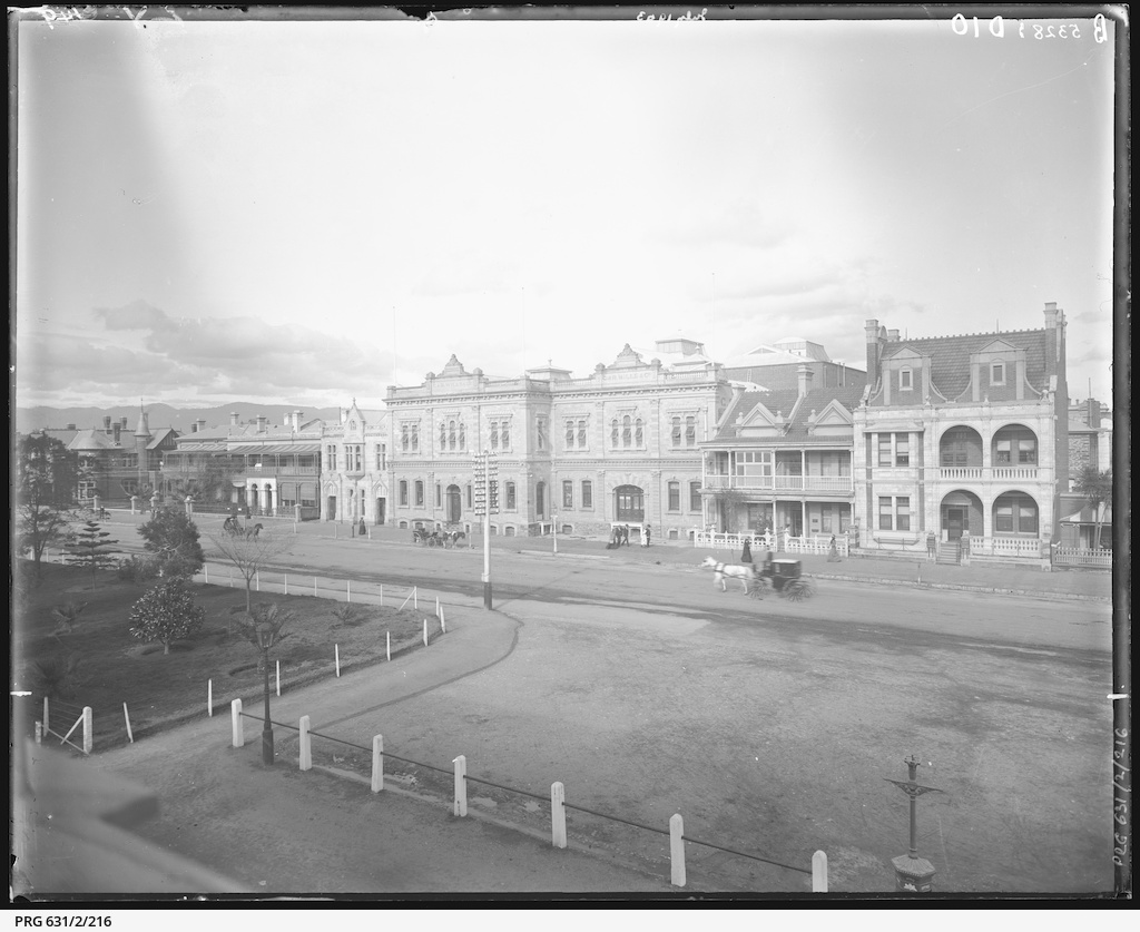 North Terrace east of Gawler Place