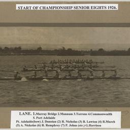 Championship Senior Eights 1926