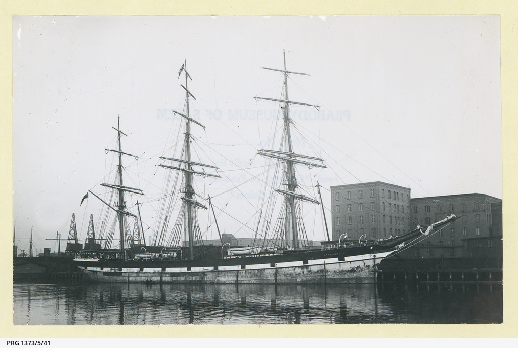 The 'Otterspool' docked in an unidentified port