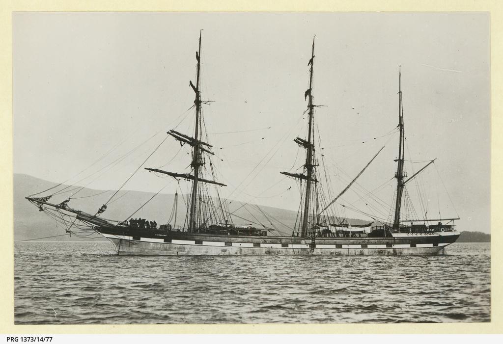 The 'Nairnshire' at anchor