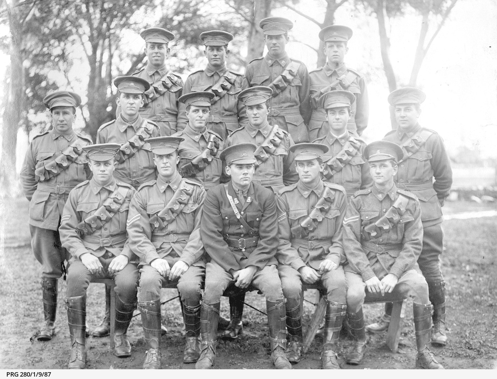 Army cadets from Prince Alfred College