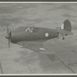 CA-13 A46-163 CAC Boomering in flight.