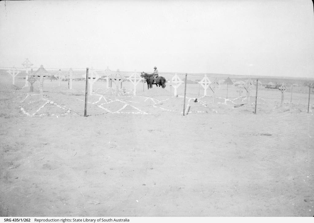 War graves.