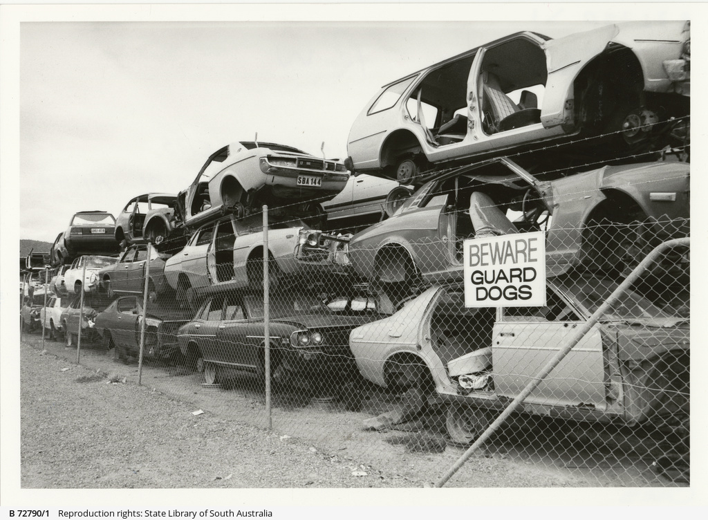 Prestige Auto Dismantlers • Photograph • State Library of South