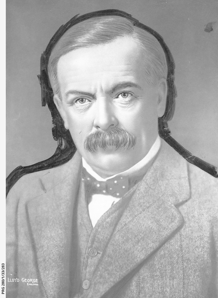 David Lloyd George, Prime minister of Great Britain