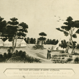 The first settlement in South Australia