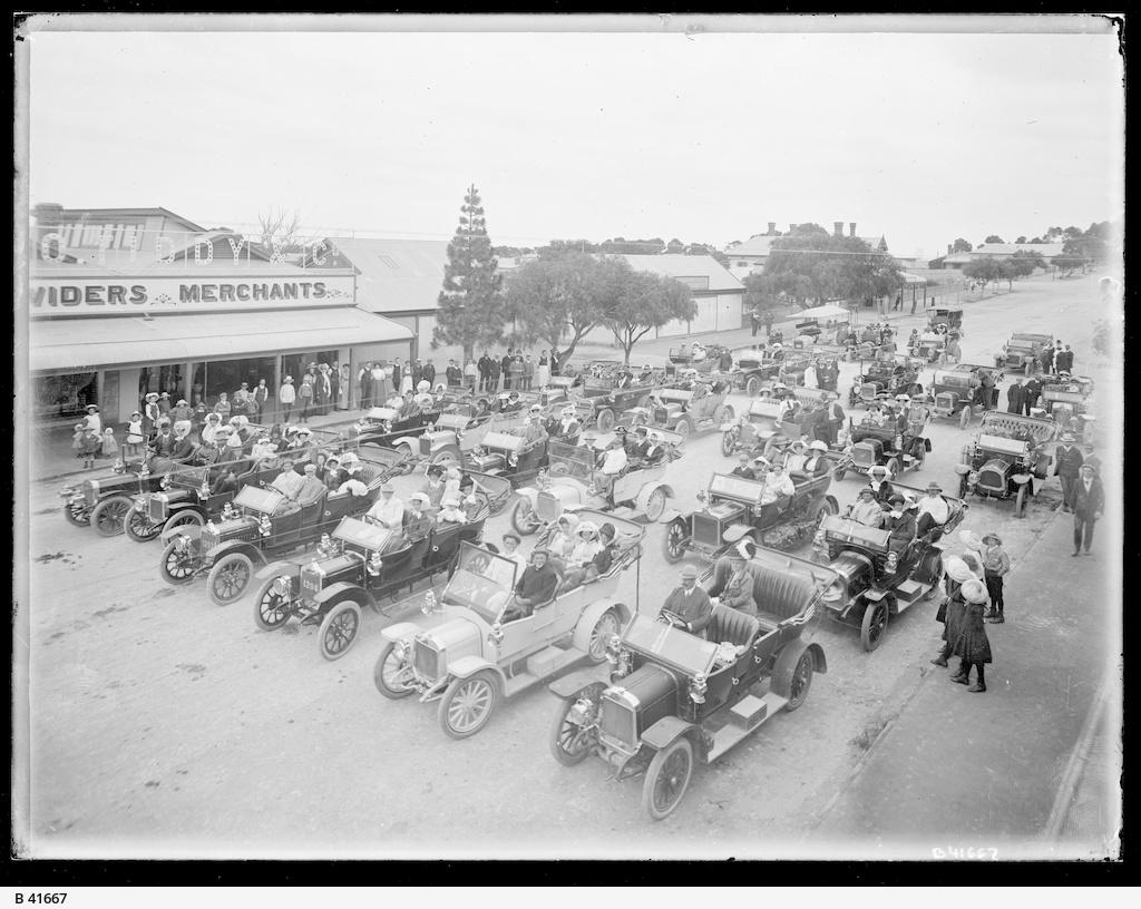 Car rally, Maitland