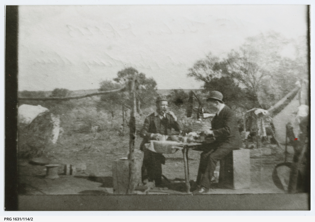 Two men at the Tarcoola Gold Mine