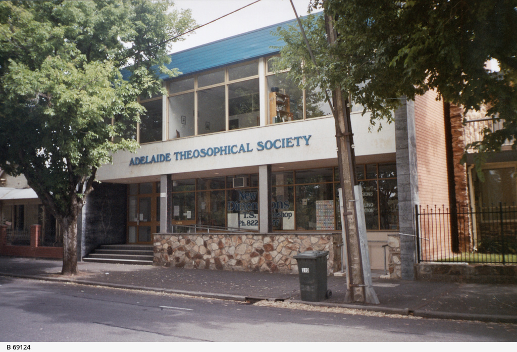 Adelaide Theosophical Society and bookshop
