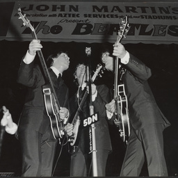 """The Beatles' performing at Wayville"