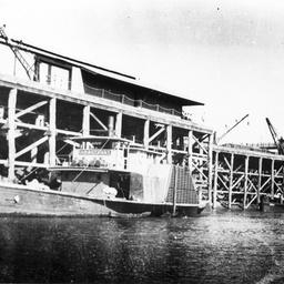 'Arbuthnot' at Echuca wharf