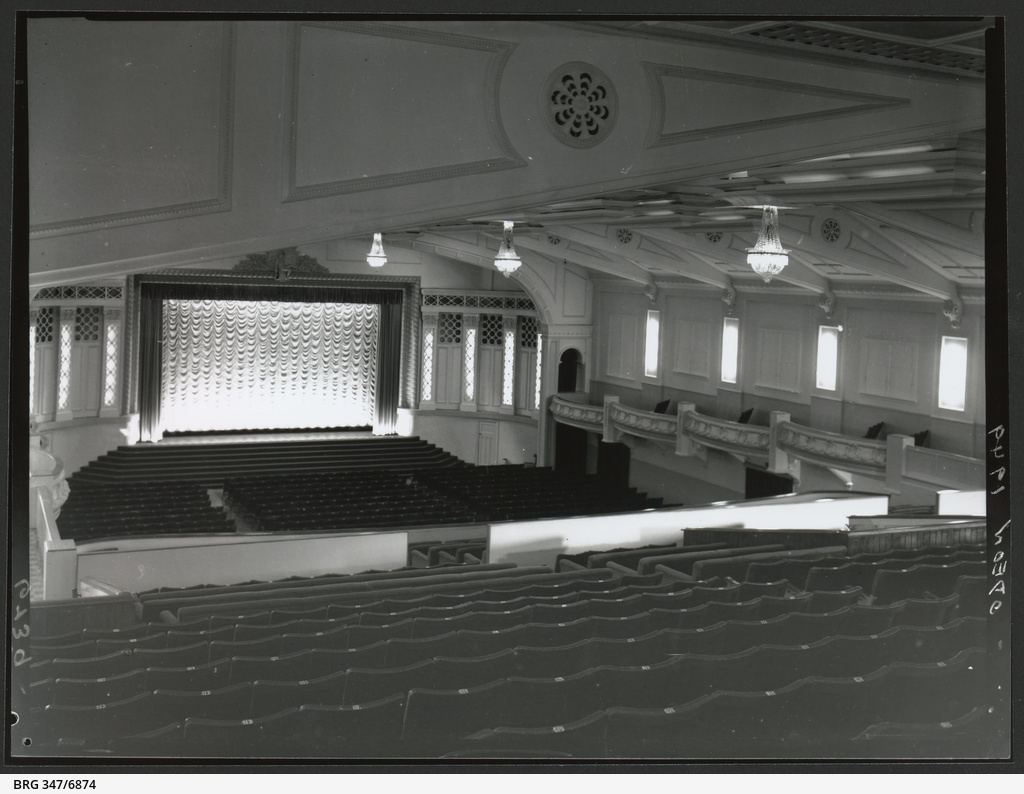 Odeon Cinema Photograph State Library Of South Australia