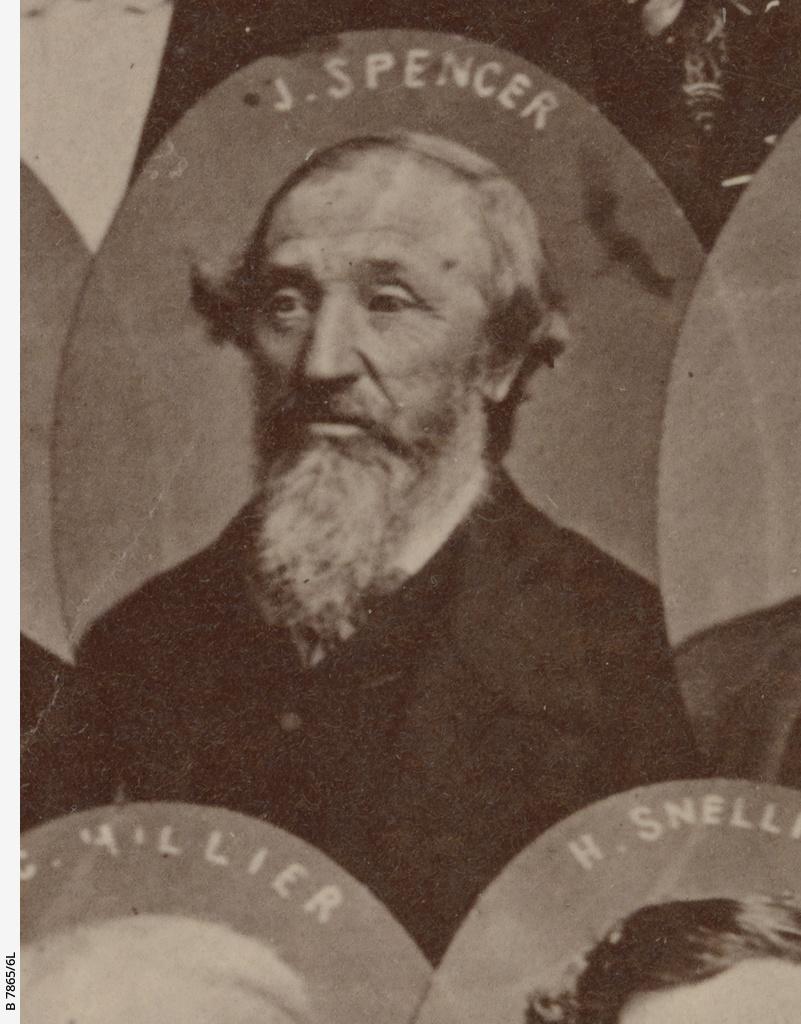 South Australian pioneers 1840 : John Spencer
