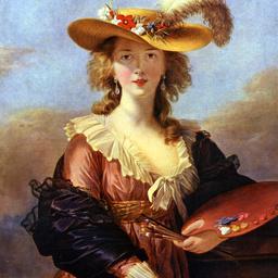 Self-portrait by Elisabeth Vigee-Lebrun