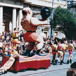 John Martin's Christmas pageant : Giant Strongman