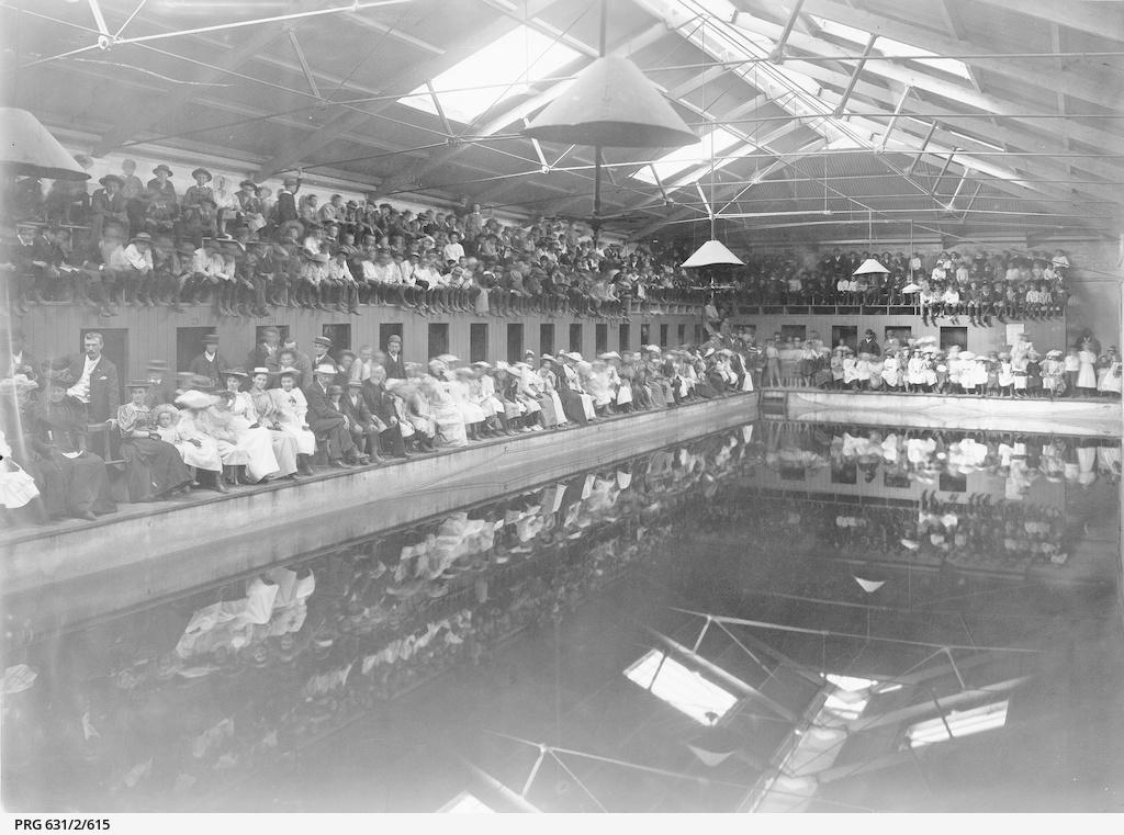 Swimming Contest, City Baths
