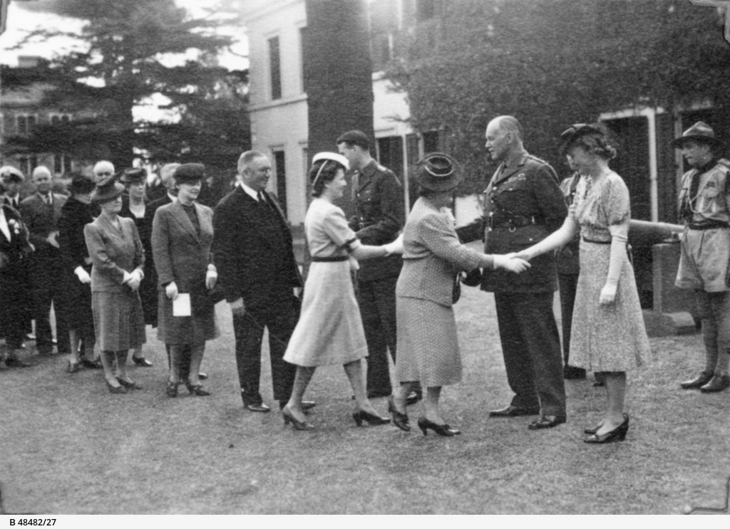 Garden party at Government House