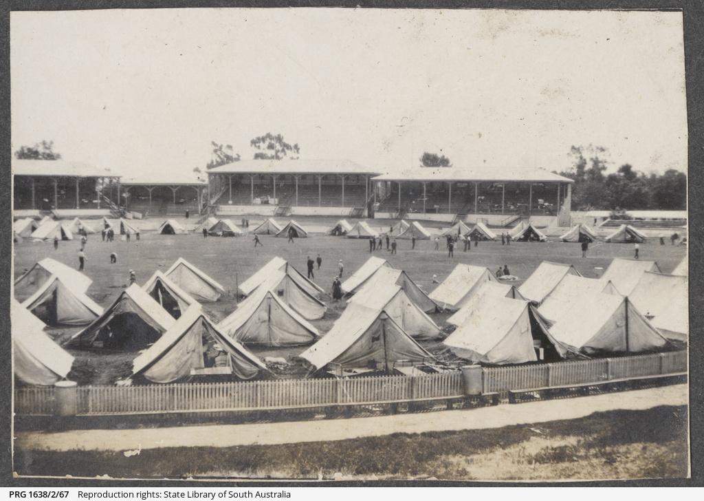 Quarantine Camp, Jubilee Oval