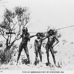 Three Aborigines