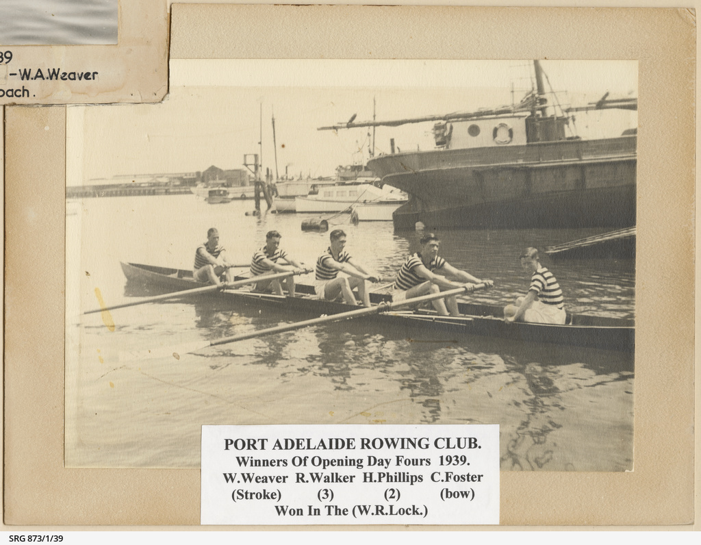 Opening Day Fours, Port Adelaide Rowing Club