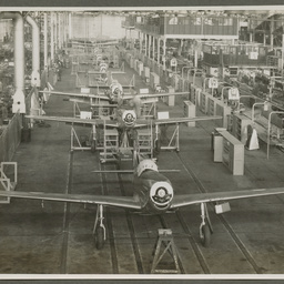 A68 Mustang production line.