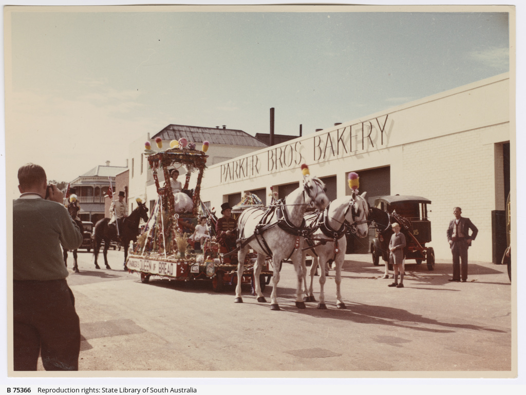 Parker Bros Bakery parade