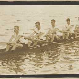 Unknown South Australian rowing crew