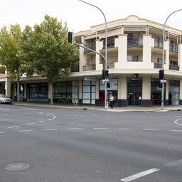 North east corner of Pulteney and Gilles Streets, Adelaide