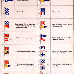 Flags of the International Code of Signals