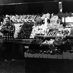 Fruit and vegetable store in Rundle Mall