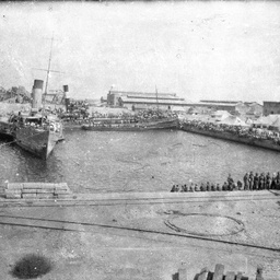 Troopships.