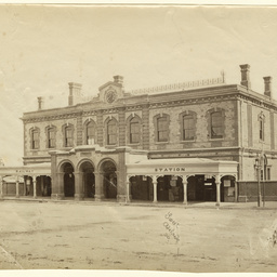 Railway Station Adelaide