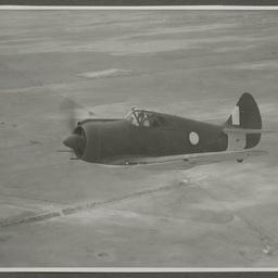 CA-13 A46-163 CAC Boomerang in flight.