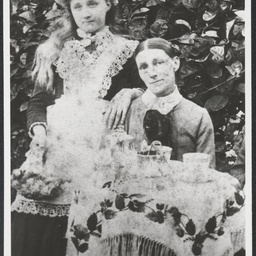 Martha White with her daughter Eva