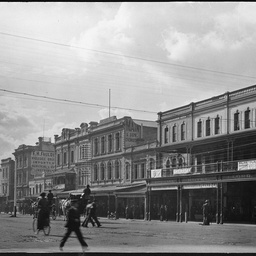 King William Street, eastern side between Grenfell Street and North Terrace