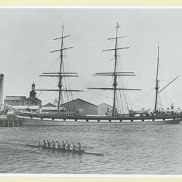 The 'Myrtle Holme at Port Adelaide