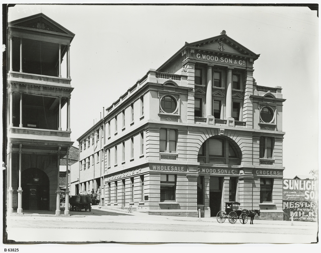 Premises of g wood son co adelaide photograph for 208 south terrace adelaide