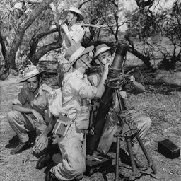 Mortar crew at Caloote